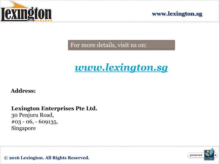 www.lexington.sg