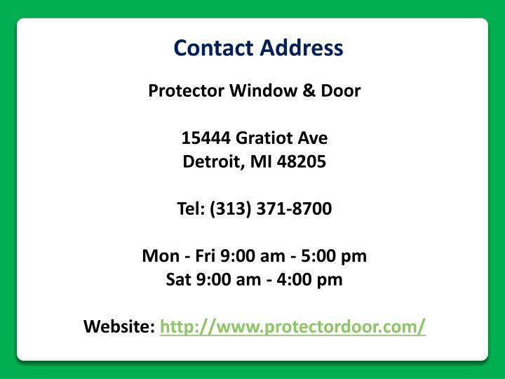 Contact Address