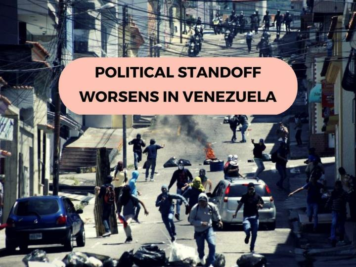 political standoff intensifies in venezuela n.