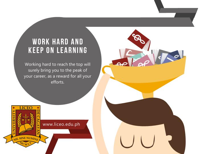 Working hard to reach the top will surely bring you to the peak of your career, as a reward for all ...