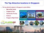 the top attractive locations in singapore