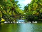 kerala tour family package