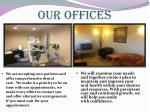 our offices