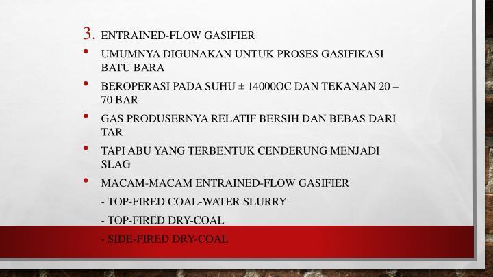 Entrained-flow gasifier