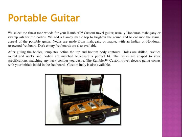 Portable Guitar