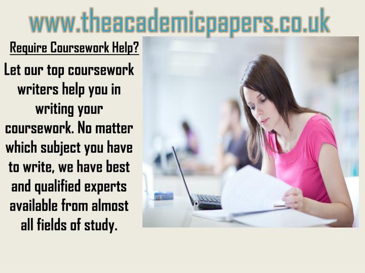 Require coursework help