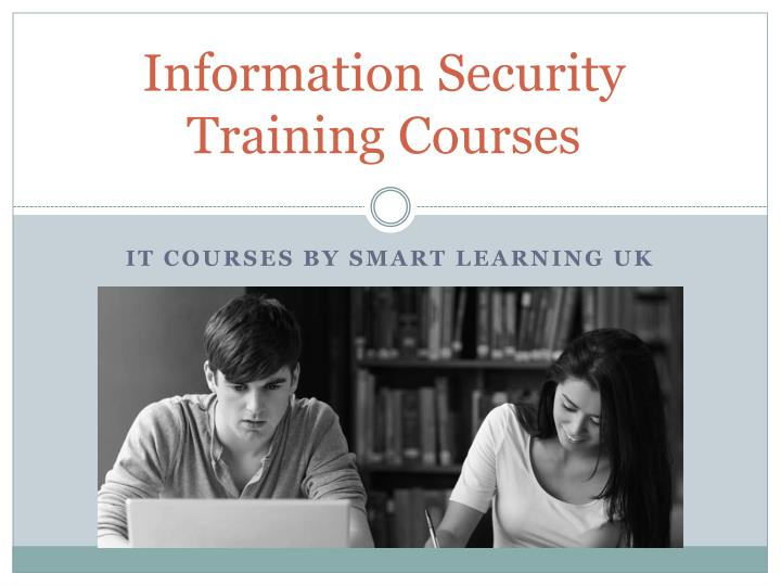 information security training courses n.
