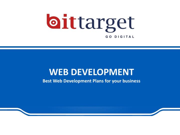 web development best web development plans for your business