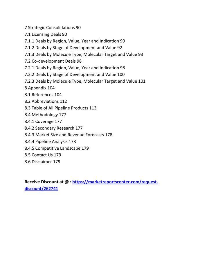 7 Strategic Consolidations 90