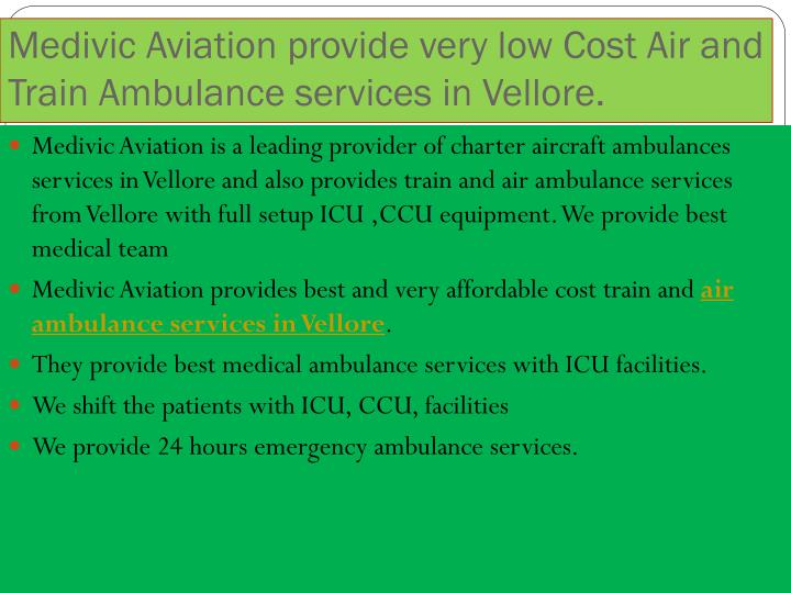 Medivic Aviation provide very low Cost Air and