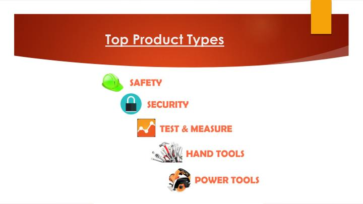 Top Product Types