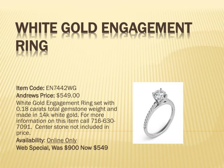 White gold engagement ring1