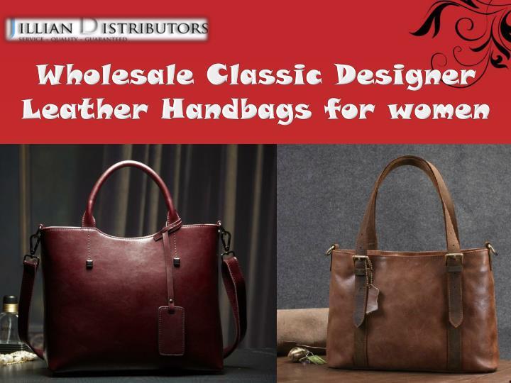 Wholesale Classic Designer Leather