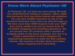 know more about paylesser uk