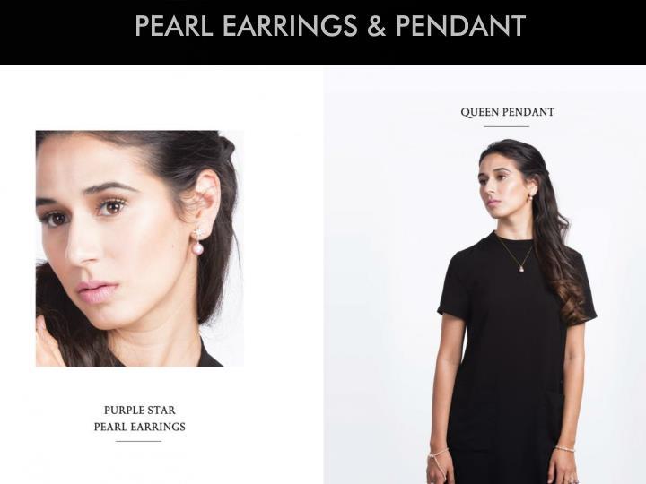 PEARL EARRINGS &