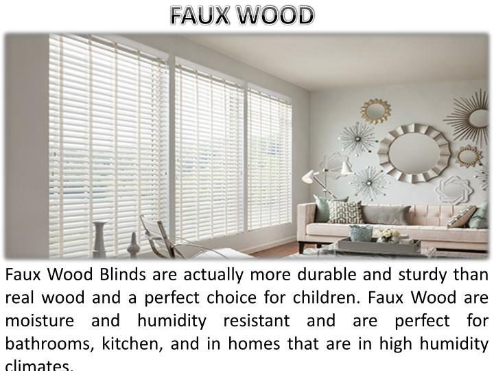 FAUX WOOD