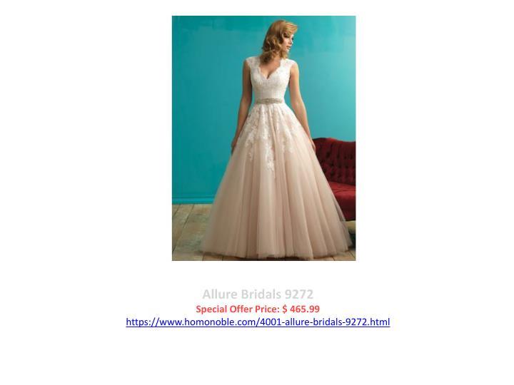 Allure Bridals 9272