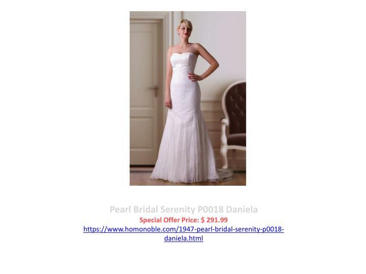 Pearl Bridal Serenity P0018 Daniela