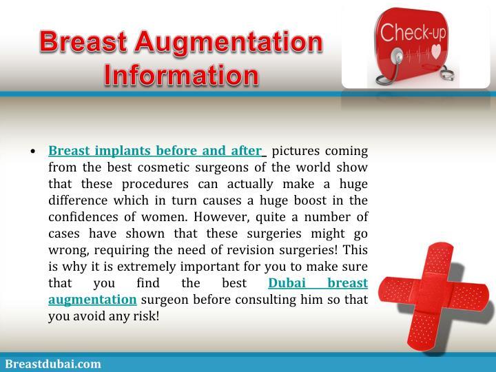 Breast Augmentation Information