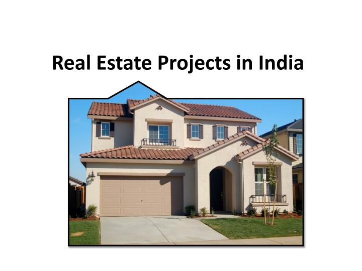 Real estate projects in india