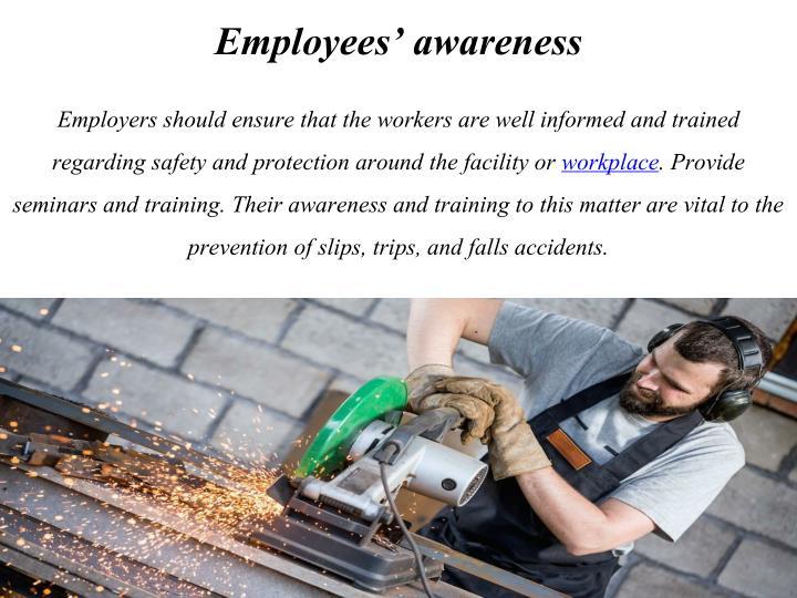 Employees' awareness
