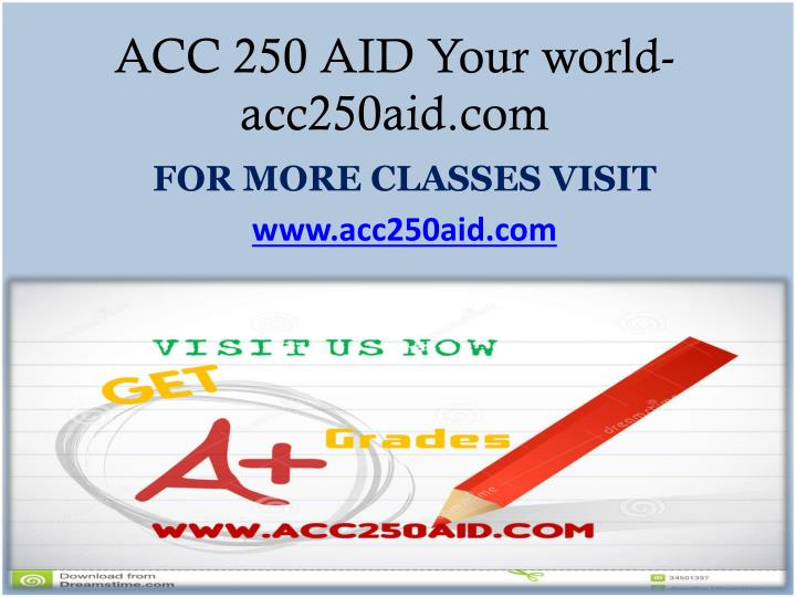 ACC 250 AID Your world- acc250aid.com