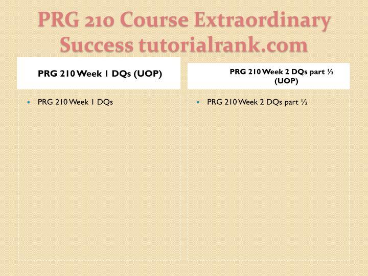 Prg 210 course extraordinary success tutorialrank com2