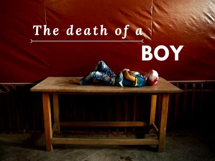 The passing of a boy