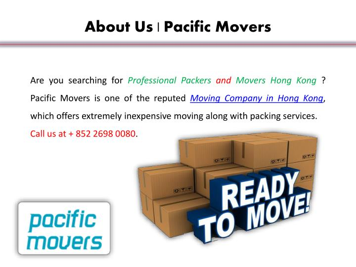 About Us | Pacific Movers