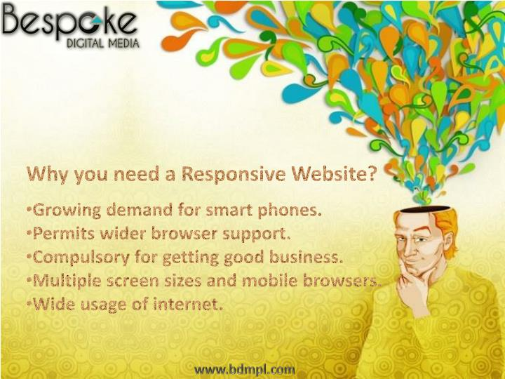 Why you need a Responsive Website?