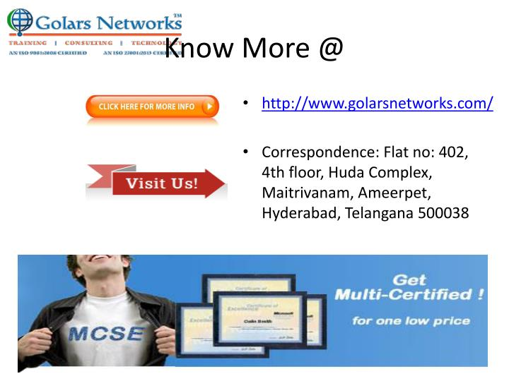 Know More @