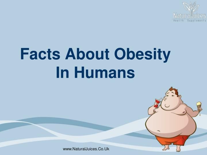 facts about obesity in humans n.