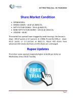share market condition