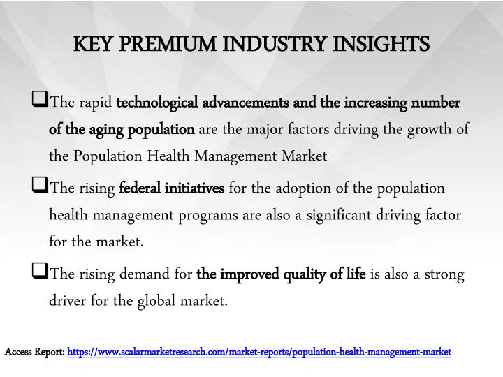 Key premium industry insights