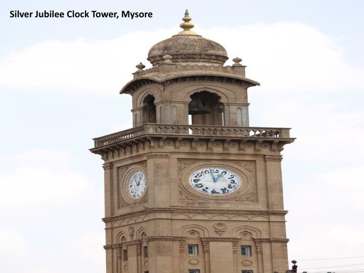 Silver Jubilee Clock Tower, Mysore