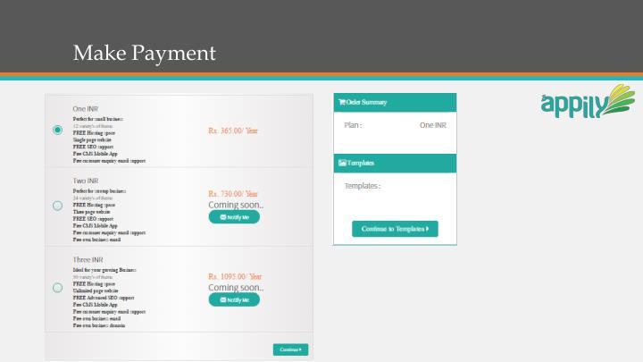 Make Payment
