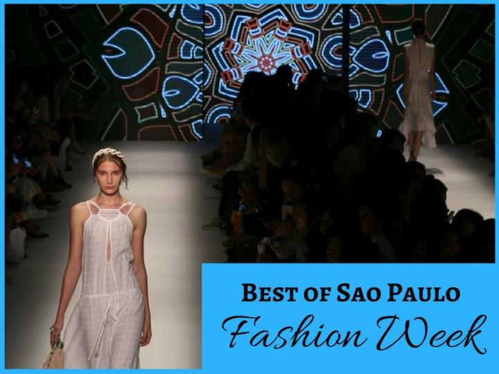 best of sao paulo fashion week n.
