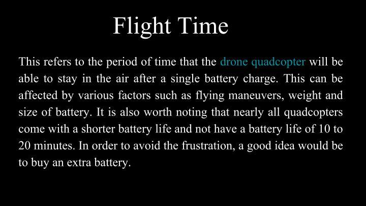 Flight Time