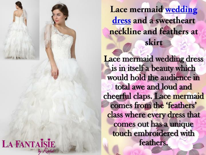 Lace mermaid
