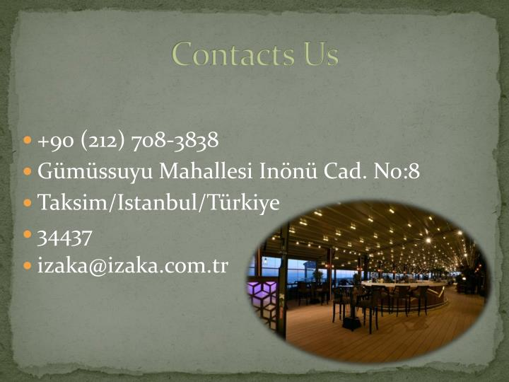 Contacts Us