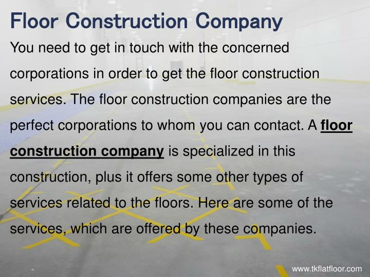 Floor Construction Company