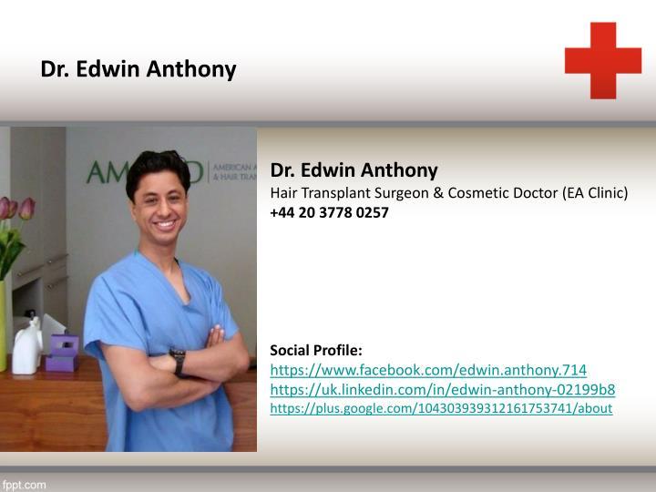 Dr. Edwin Anthony