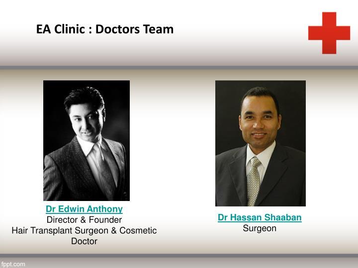 EA Clinic : Doctors Team