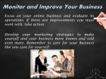 monitor and improve your business
