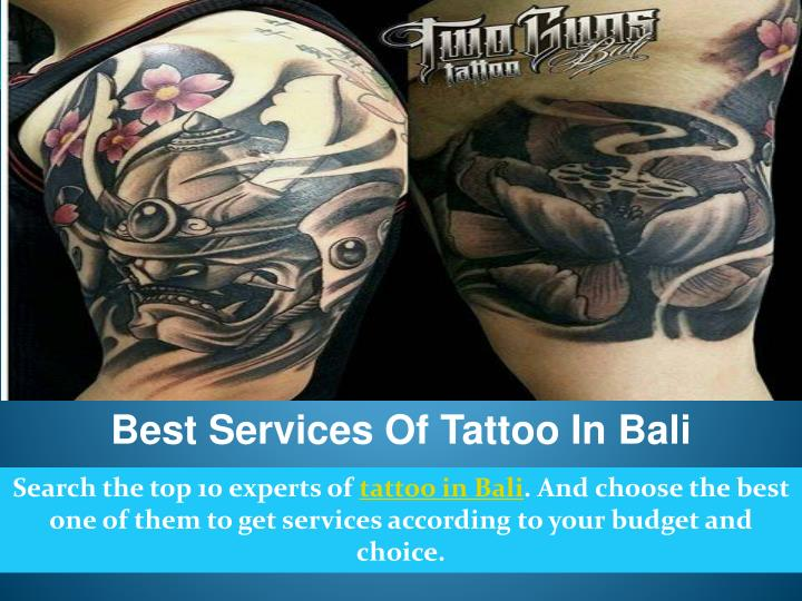 Best Services Of Tattoo In Bali