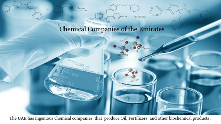 Chemical Companies of the Emirates