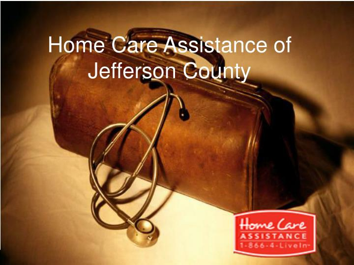 home care assistance of jefferson county n.