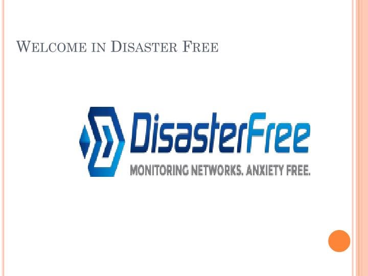 welcome in disaster free