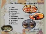 top 10 foods to try in argentina