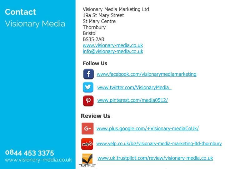 Visionary Media Marketing Ltd
